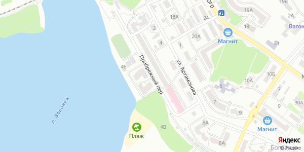 Прибрежный Переулок в Воронеже