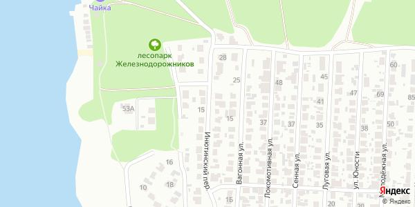 Инютинский Переулок в Воронеже
