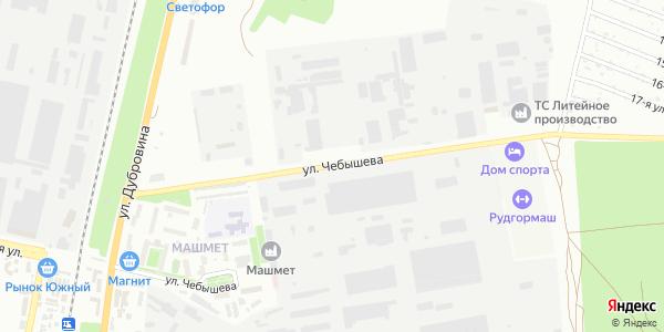 Чебышева Улица в Воронеже