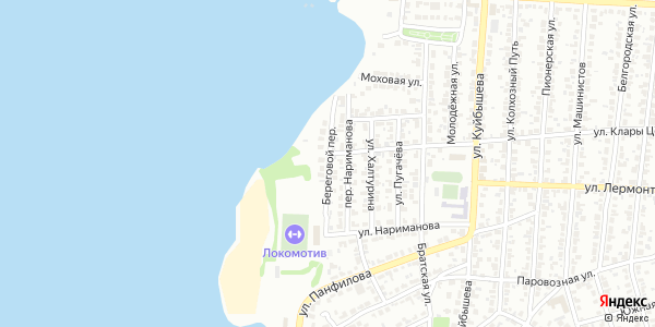 Береговой Переулок в Воронеже
