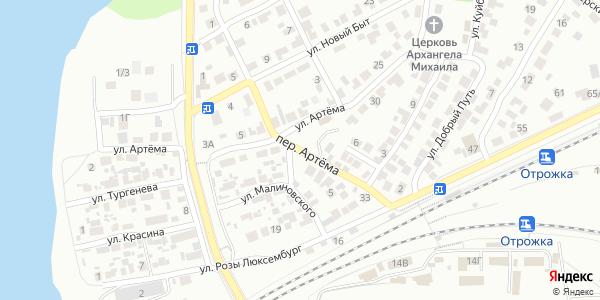 Артема Переулок в Воронеже