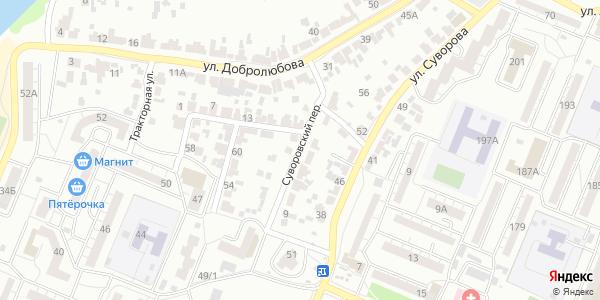 Суворовский Переулок в Воронеже
