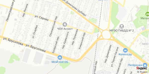 Поленова Переулок в Воронеже
