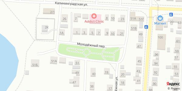Молодежный Переулок в Воронеже