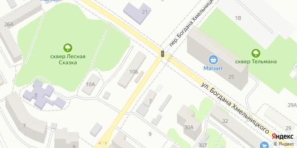 Богдана Хмельницкого Переулок в Воронеже