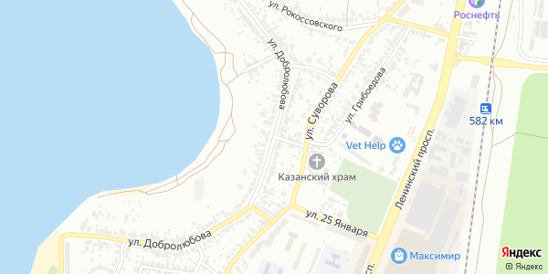 Добролюбова Улица в Воронеже