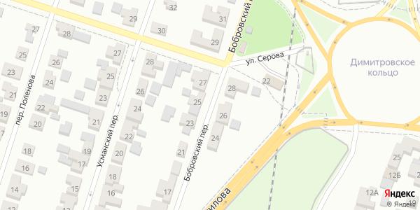 Бобровский Переулок в Воронеже