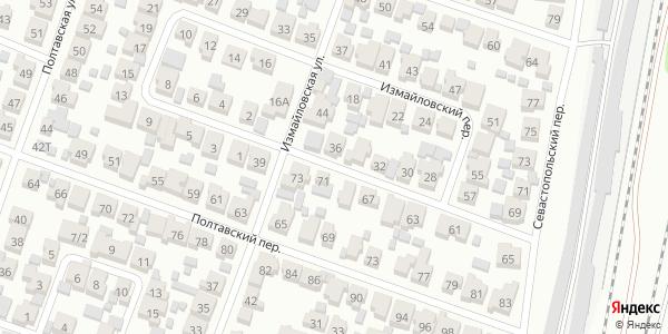 Измайловский Переулок в Воронеже