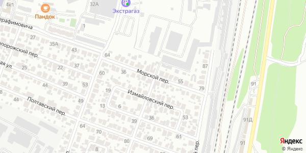 Морской Переулок в Воронеже
