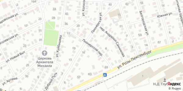 Пионерский Переулок в Воронеже