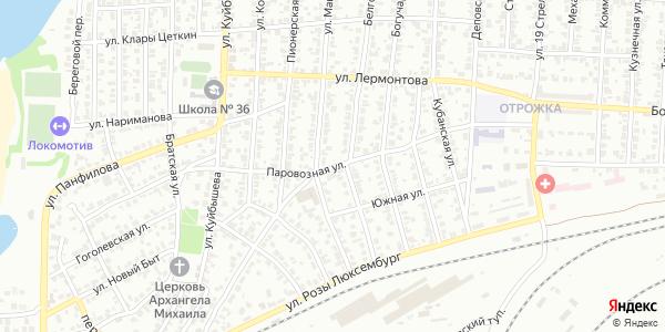 Паровозная Улица в Воронеже