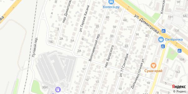 Волочаевский Переулок в Воронеже