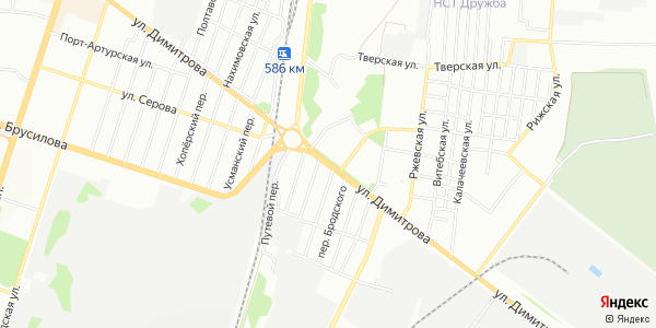 Димитрова Улица в Воронеже