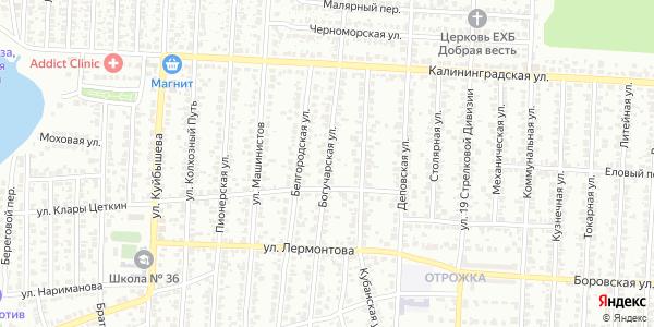 Богучарская Улица в Воронеже