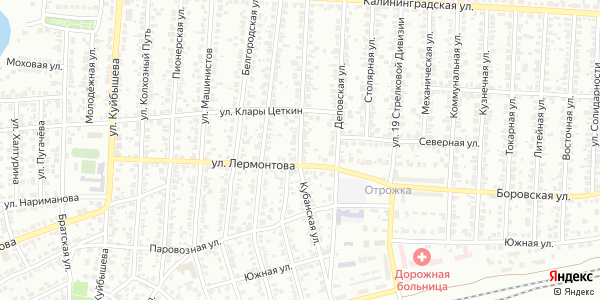Кубанская Улица в Воронеже