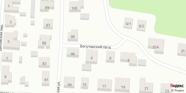 Богучарский Проезд в Воронеже