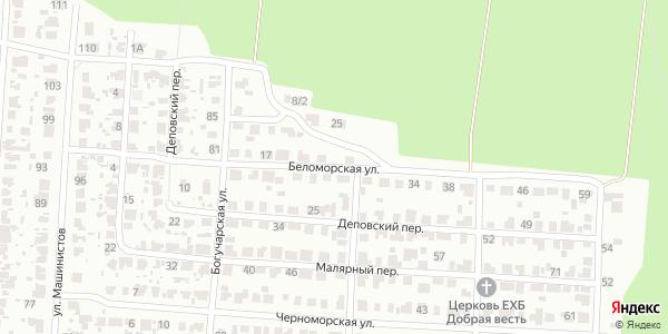 Беломорская Улица в Воронеже