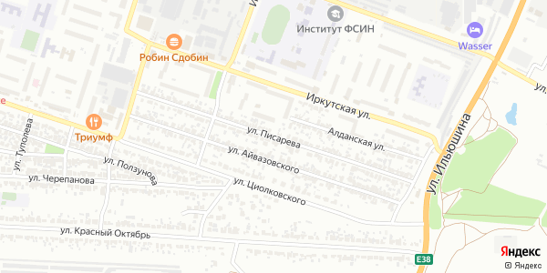 Писарева Улица в Воронеже