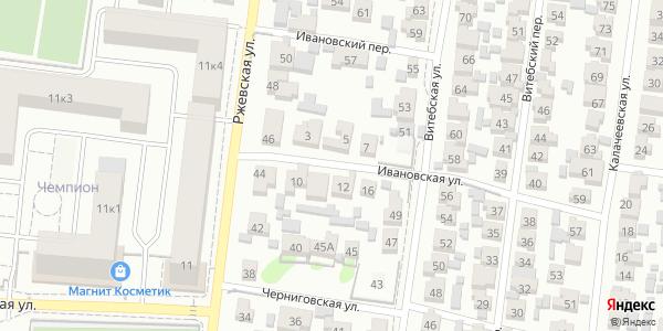 Ивановская Улица в Воронеже