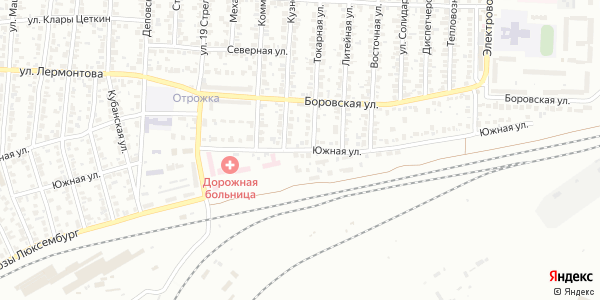 Южная Улица в Воронеже