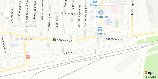 Боровская Улица в Воронеже
