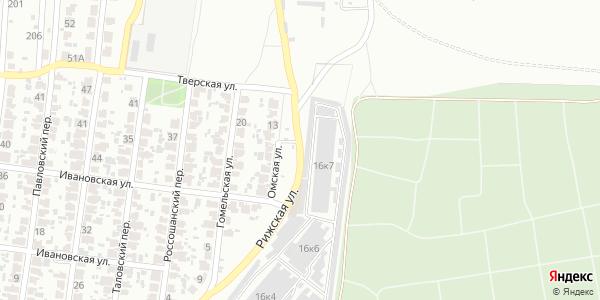 Омская Улица в Воронеже