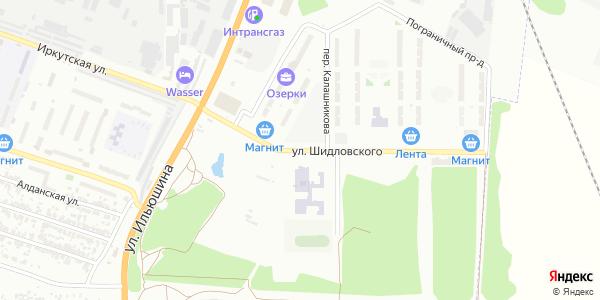 Шидловского Улица в Воронеже