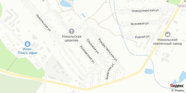 Ольховая Улица в Воронеже
