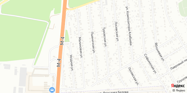 Пшеничная Улица в Воронеже