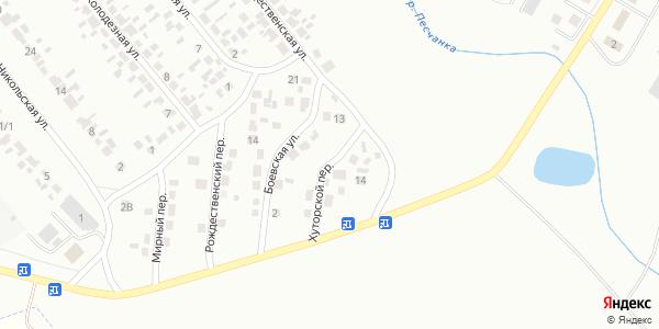 Хуторской Переулок в Воронеже