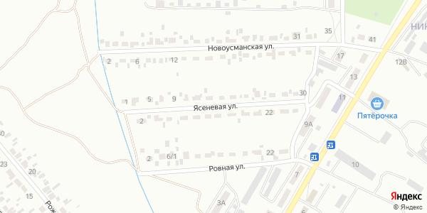 Ясеневая Улица в Воронеже
