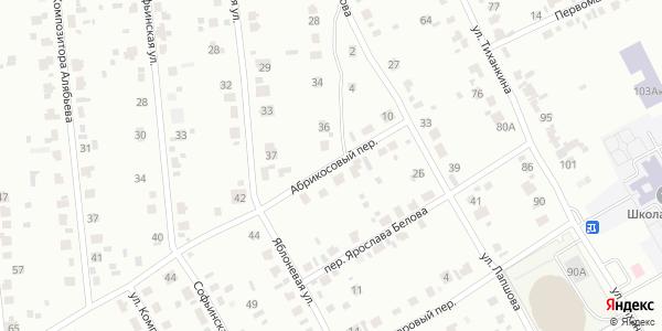 Абрикосовый Переулок в Воронеже