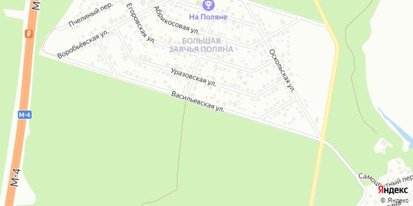 Васильевская Улица в Воронеже