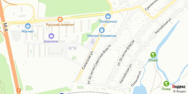 Сельская Улица в Воронеже