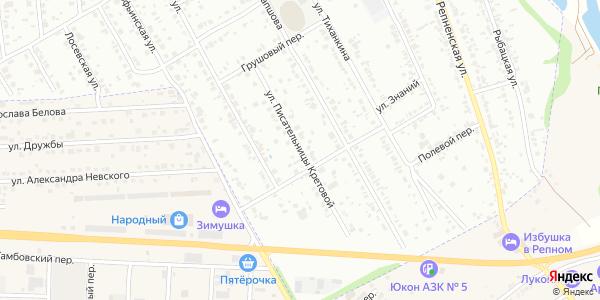 Писательницы Кретовой Улица в Воронеже