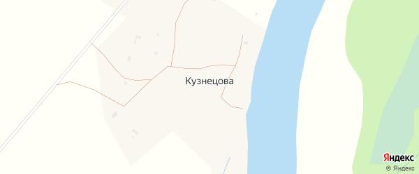 Лодочная улица на карте деревни Кузнецова с номерами домов