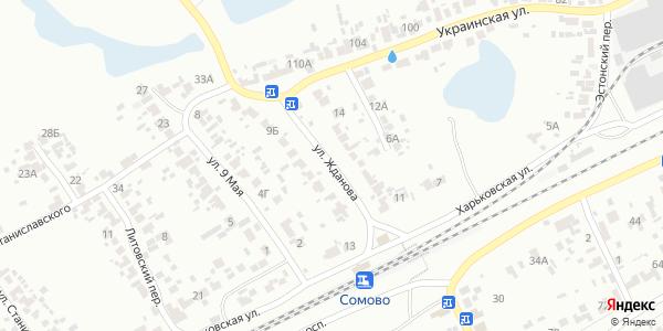 Жданова Улица в Воронеже