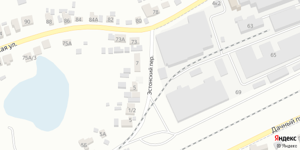 Эстонский Переулок в Воронеже