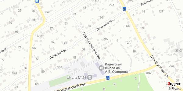 Педагогический Переулок в Воронеже