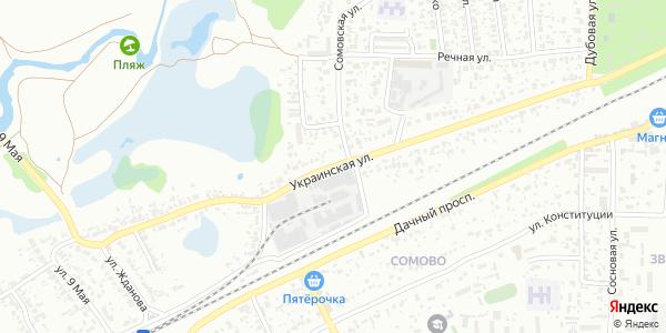 Украинская Улица в Воронеже