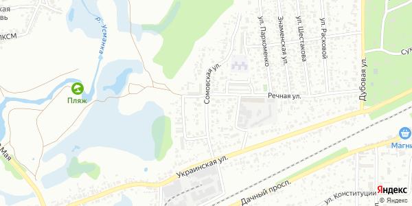 Сомовская Улица в Воронеже