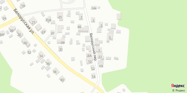 Белорусский Переулок в Воронеже