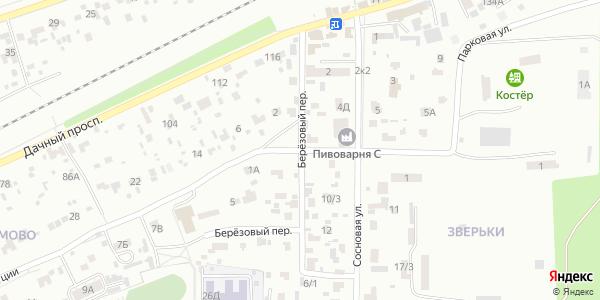 Березовый Переулок в Воронеже