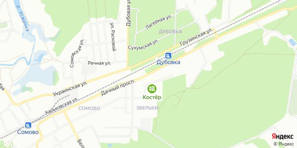 Дачный Проспект в Воронеже