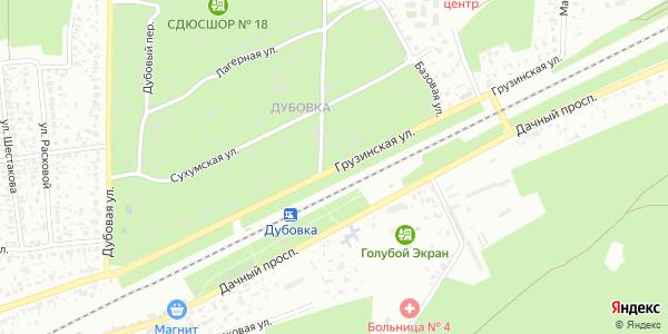 Грузинская Улица в Воронеже