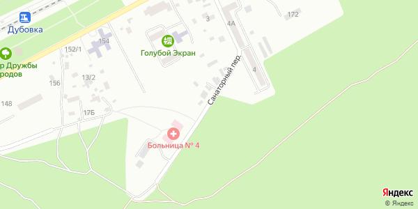 Санаторный Переулок в Воронеже