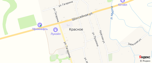 Дорога А/Д Красное-Ассоколай на карте Красного села с номерами домов