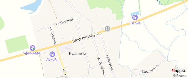 Улица Пушкина на карте садового некоммерческого товарищества Адыгеи с номерами домов