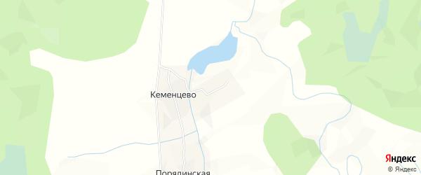 Карта деревни Малышкино в Архангельской области с улицами и номерами домов