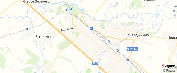 Карта Рыбного с районами, улицами и номерами домов